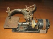 1920s Antique Willcox And Gibbs Electric Motor Automatic Sewing Machine Repair