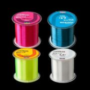 500m Japan Nylon Fluorocarbon Super Strong Fishing Line Super Strong Clear