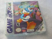 Game Boy Disney's Donald Duck Going Quackers Video Game. New, Sealed, Must See