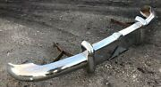 1949 Buick Super Front Bumper With Supports Solid All Original Part