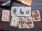 Rare Vintage Miniature Ass Patience Double Pack Playing Cards Collectible Gift