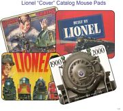 Lionel Catalog Cover Mouse Pads 1959, 60, 61, 62, 63, 64, 65, 66, 67 Mouse Pads