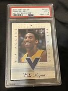 2002 Ud Glass Kobe Bryant Vip Access Jersey Lakers Kbvip Psa 9 1of 1 Pop