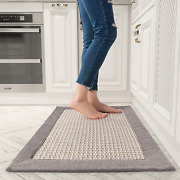 Kitchen Floor Mats For In Front Of Sink Kitchen Rugs And Mats Non-skid Twill Kit