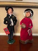 Byers Choice A Christmas Carol - Young Scrooge And Belle