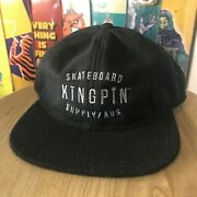 Kingpin 6 Panel Wool Adjustable Cap Assorted Colours Hat Free Post Aus Seller