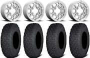 Kmc Mesa Lite 15 Wheels Machined 35 Coyote Tires Can-am Renegade Outlander