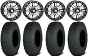 Sti Hd9 15 Bdlk Wheels Mh 6+1 35 Coyote Tires Can-am Defender