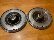 Set Of 2 Wheel Covers Hub Caps 1960andrsquos Mustang 14 Inch Across