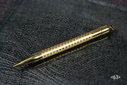 1920's Conklin Mechanical Pencil Rolled Gold - Toledo, Ohio
