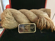 Extremely Rare Titanic 1997 Original Screen Used Ship Deck Rope Movie Prop