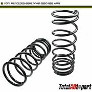 2x Coil Spring For Mercedes-benz G-class W460 230g 280ge 300gd Rear Left And Right
