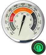 Grill Temperature Gauge Accurate Bbq Grill Smoker Thermometer 3 1/8 Inch