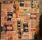 1975 Between Meals Puzzle-planters Peanuts And Candy Bars- Over 500 Pieces