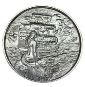 The Siren Ultra High Relief 2 Oz .999 Silver Privateer Series