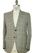 Isaia Napoli Cashmere Blend Two-button Sportcoat 44 Eu 56 Handmade In Italy