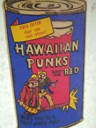 Vtg 1974 Wacky Packages Hawaiian Punch Can Punks T Shirt Iron On Transfer
