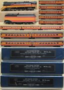 Erie Limited Southern Pacific Daylight Set Gs-4 W/12x Passenger Car Brass Read