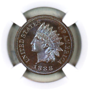 1888 Pf65 Bn Ngc Indian Head Penny Premium Quality Proof Example