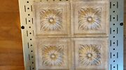 Decorative Insert Floral Wall Tiles High Relief Fiore Clay From Italy New 4- 6x6