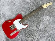 Gandl Limited Tribute Asat Clasic Semi-hollow Candy Apple Red Guitar Qfo37