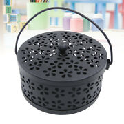 Portable Mosquito Coil Holder And Incense Burner Retro Fireproof Mosquito Coil Box