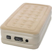Raised 18 Twin Air Mattress With Built-in Pump Inflatable Camping Travel Bed