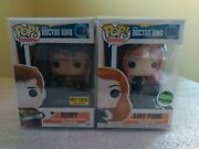 Funko Pop Television Doctor Who No. 600 Amy Pond No. 483 Rory Exclusive