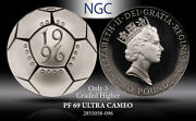 1996 G.britain 2p European Championship Ngc Pf 69 Ultra Cam Silver Only 3 Higher