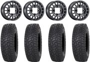 Method 407 15 Wheels Black 35 X Comp At Tires Rzr Turbo S/rs1