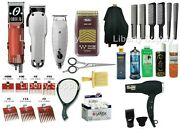 Cosmetology School Professional Hairstylist Kit Complete Oster Andis Wahl Sale