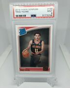 Trae Young 2018 Panini Donruss 198 Rated Rookie Rc Psa 9 Mint