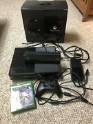 Xbox One Day One Edition - Console Kinect Box Charger Modded Controller 2 Games