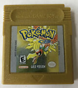 Pokemon Gold Version Gbc Game Boy Color - Tested Working Authentic