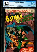 Brave And The Bold 85 Cgc 9.2 Green Arrow Don New Costume Neal Adams Art