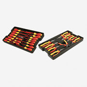 Wiha 32989 28 Piece Insulated Pliers/cutters/screwdrivers Tray Set