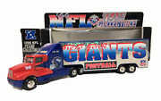 Ny Giants Football 1999 Limited Edition Kenworth Tractor Trailer Toy