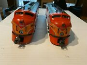 Lionel 6-8260/8262 Southern Pacific F-3 Aa Diesels + 7 Passenger Cars
