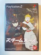 New Seald Sony Playstion 2 Ps2 Japan Steam Boy