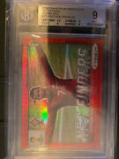 2014 Prizm World Cup Net Finders 20 Cristiano Ronaldo Red /149 Bgs 9 9,9,9,9.5