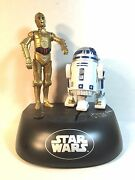 Kenny Baker R2d2 And Anthony Daniels C3po Autograph Signed Autographed Bank +proof
