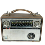 Vtg Ge General Electric Solid State Afc/fm/sw/bc/lw Radio P991a Working