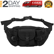 Fishing Waist Tackle Bag Functional Outdoor Camping Fanny Pack Multiple Pockets