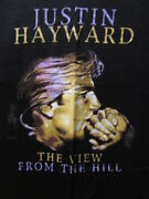 Justin Hayward The View From The Hill 1996 Large Concert Tour Shirt Moody Blues