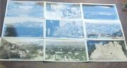 Lot Of 10 Antique Rare Rppc Postcards Of Early Hollywood And Beverly Hills Ca.