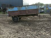 Weeks 4 Ton Farm Tipping Trailer Muck Small Holding / Horse Yard