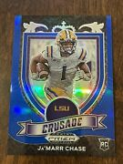2021 Panini Prizm Draft Ja'marr Chase 68/199 Blue Refractor Bengals Hot Invest