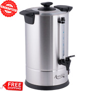 Commercial Coffee Maker Machine Urn Brewer Warmer Electric Resto Home Nsf 55 Cup