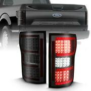 Anzo For 2018 - 2019 Ford F-150 Led Taillight Smoke Red Light Bar 311315