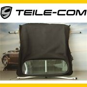 Top + Orig.porsche 987 Boxster Hood Covering With Disc Black/folding Top Cover